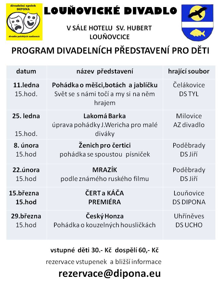 Program divadla